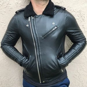 Slate & Stone Leather Moto Jacket